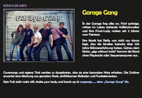 Garage Gang